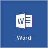 Word 图标