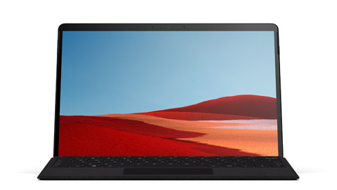 Surface Pro X 带 Surface Pro X Signature Keyboard