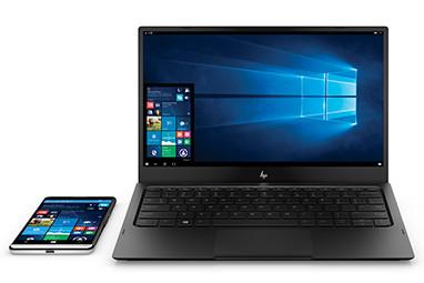 带 Lap Dock 配件组合的 HP Elite x3