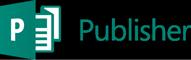 Publisher 选项卡,显示与 Publisher 2010 相比的 Office 365 版 Publisher 功能