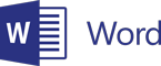 Microsoft Word 徽标