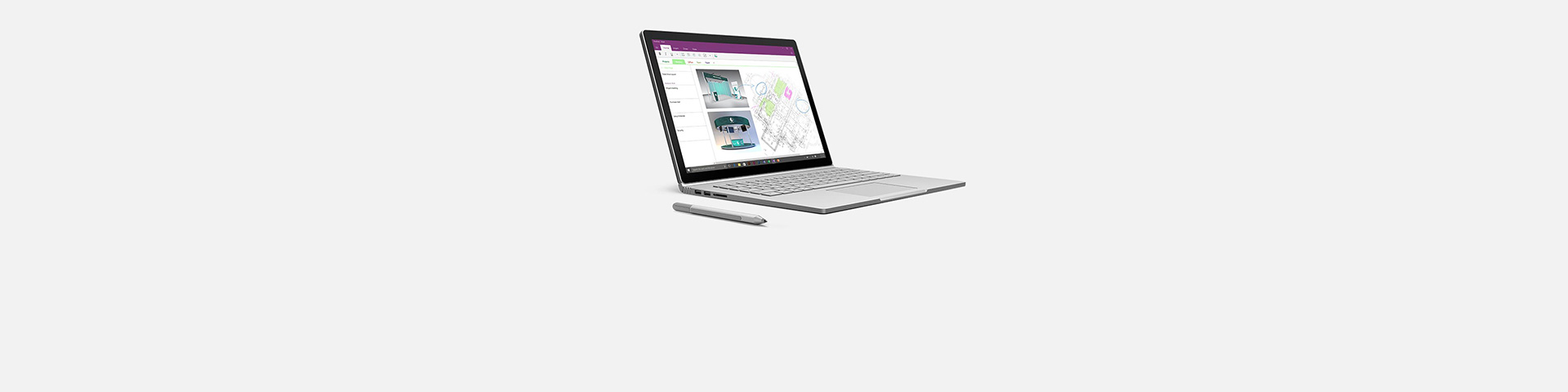 一台 Surface Book