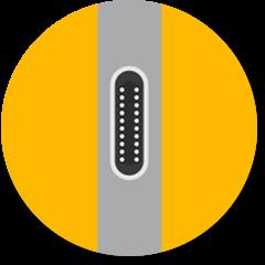 USB-C® 端口应答图标