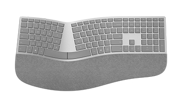 Surface 人体工学键盘 (Surface Ergonomic Keyboard)