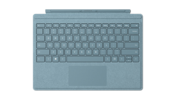 水蓝色 Surface Pro 特制版专业键盘盖