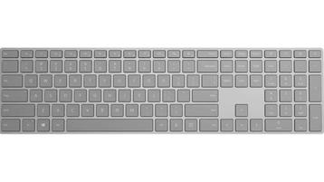 带指纹识别功能的 Microsoft 时尚键盘