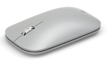 Surface Mobile Mouse 亮铂金