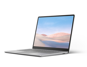 Surface Laptop Go 的渲染图像