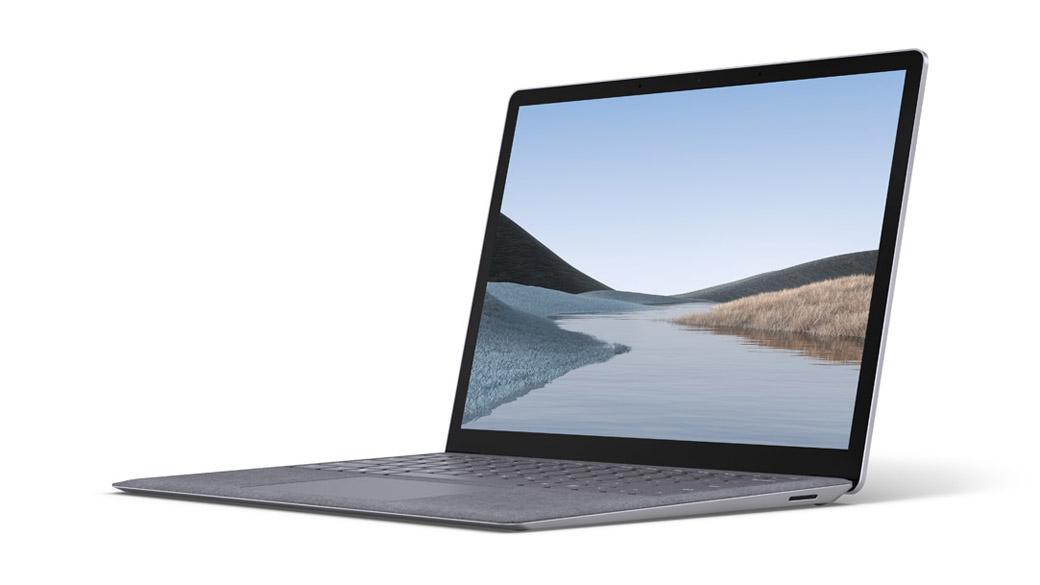 亮铂金 13.5 英寸 Surface Laptop 3