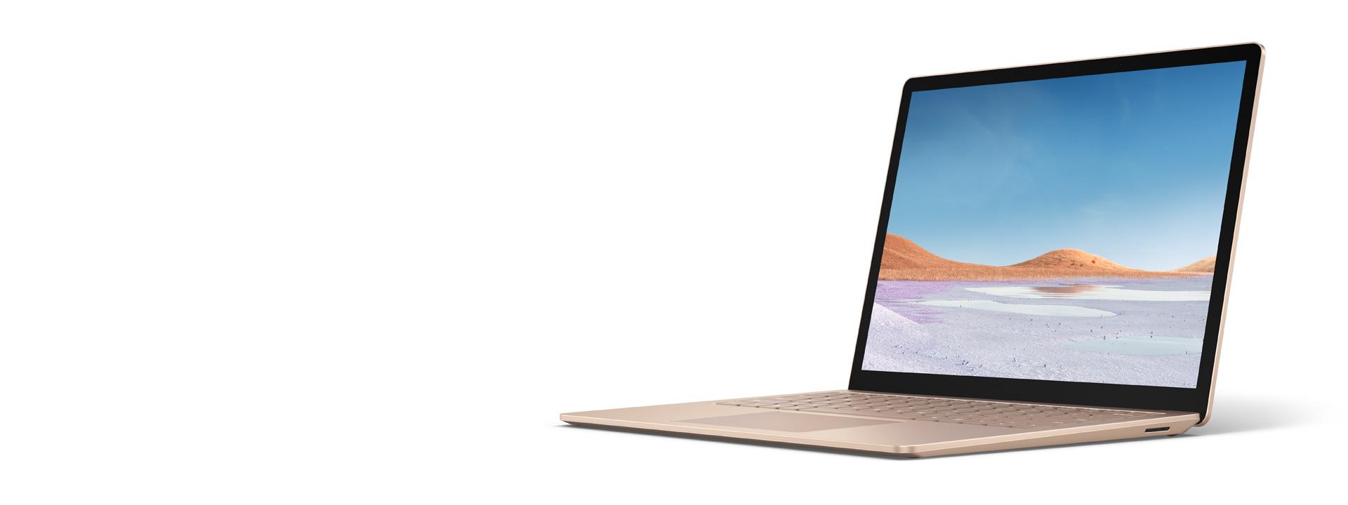 砂岩金 13.5 英寸 Surface Laptop 3