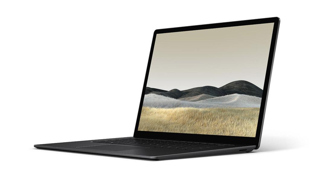 典雅黑 15 英寸 Surface Laptop 3