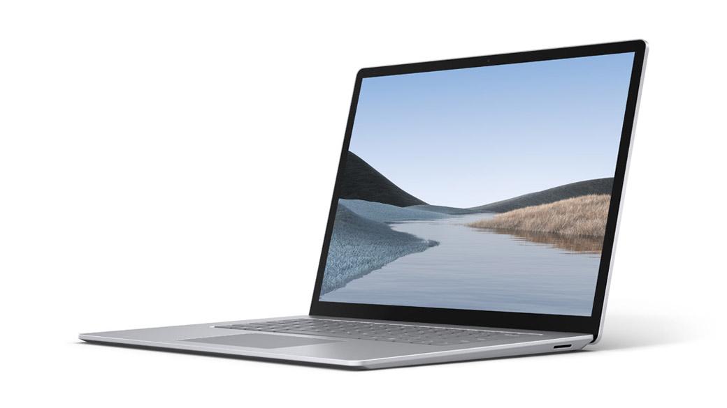 亮铂金 15 英寸 Surface Laptop 3