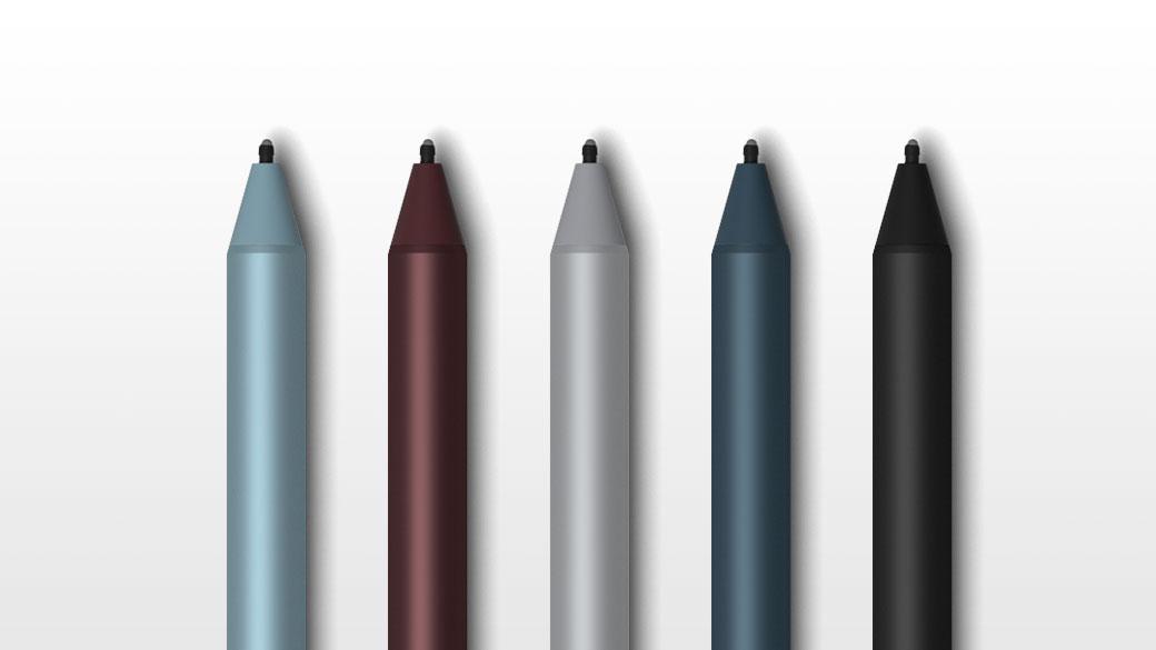 多个 Surface Pen 图像