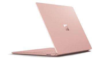 Surface Laptop 2 电脑后视图