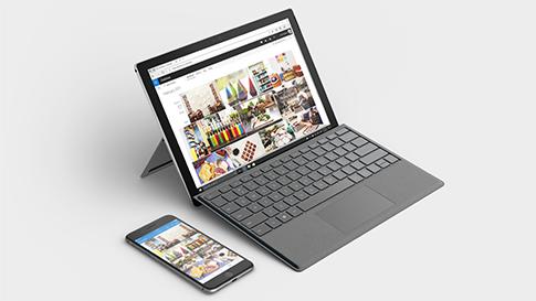 将手机与 Surface 设备同步