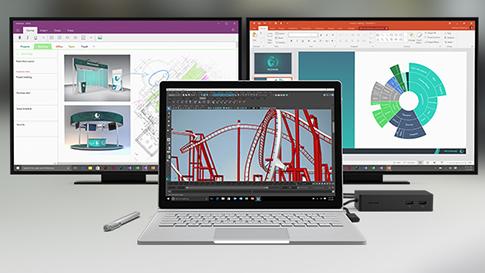 多个 Surface 设备和配件