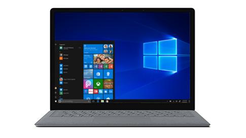 配备 Windows 10 S 的 Surface Laptop