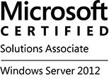 MCSA Windows windows Server 2012 logo
