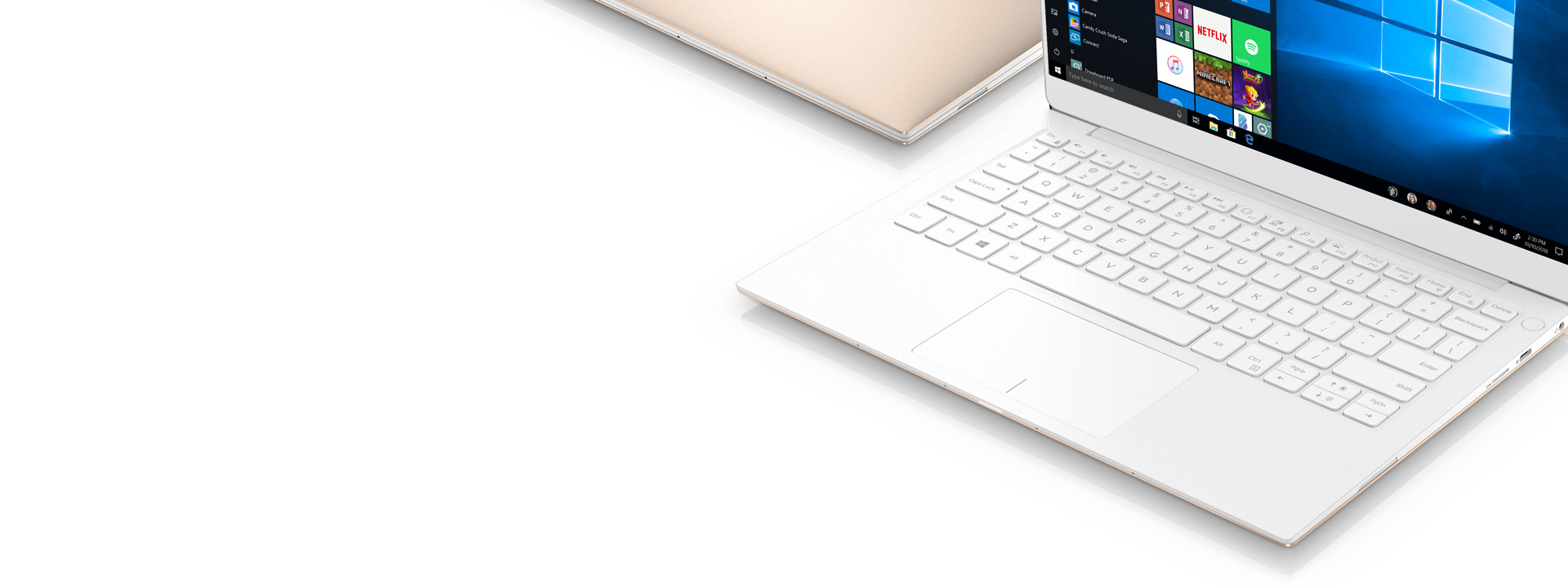 Windows 10 手提電腦顯示開始畫面