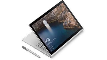 Surface Book 處於繪圖模式