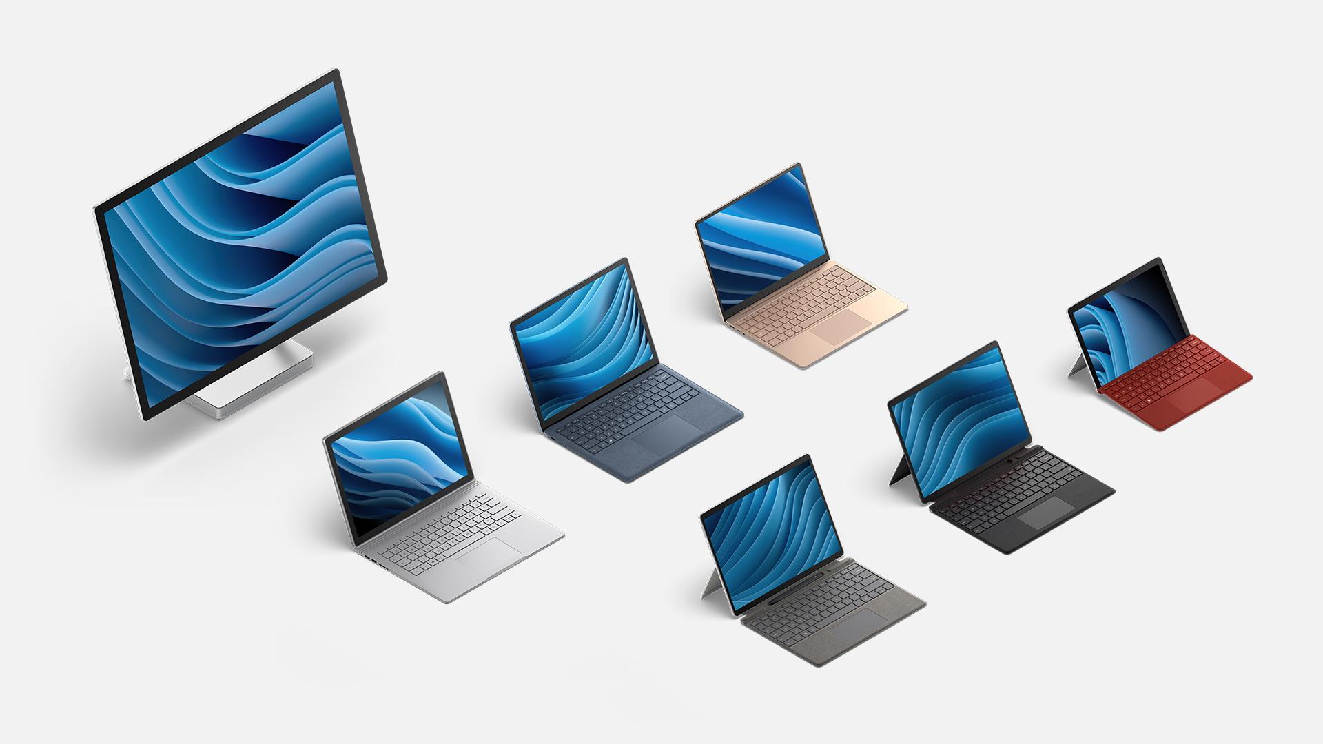Surface 全系列裝置。