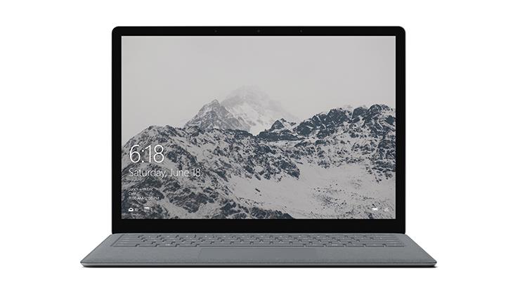 Surface Laptop 裝置影像