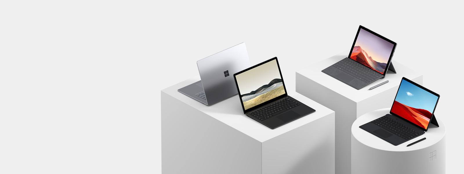 各款 Windows 10 筆記型電腦