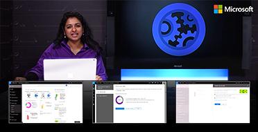 示範 Office 365 ADM 功能影片的螢幕擷取畫面,YouTube 影片示範