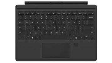 具有指紋識別的 Surface Pro 4 專業鍵盤保護蓋