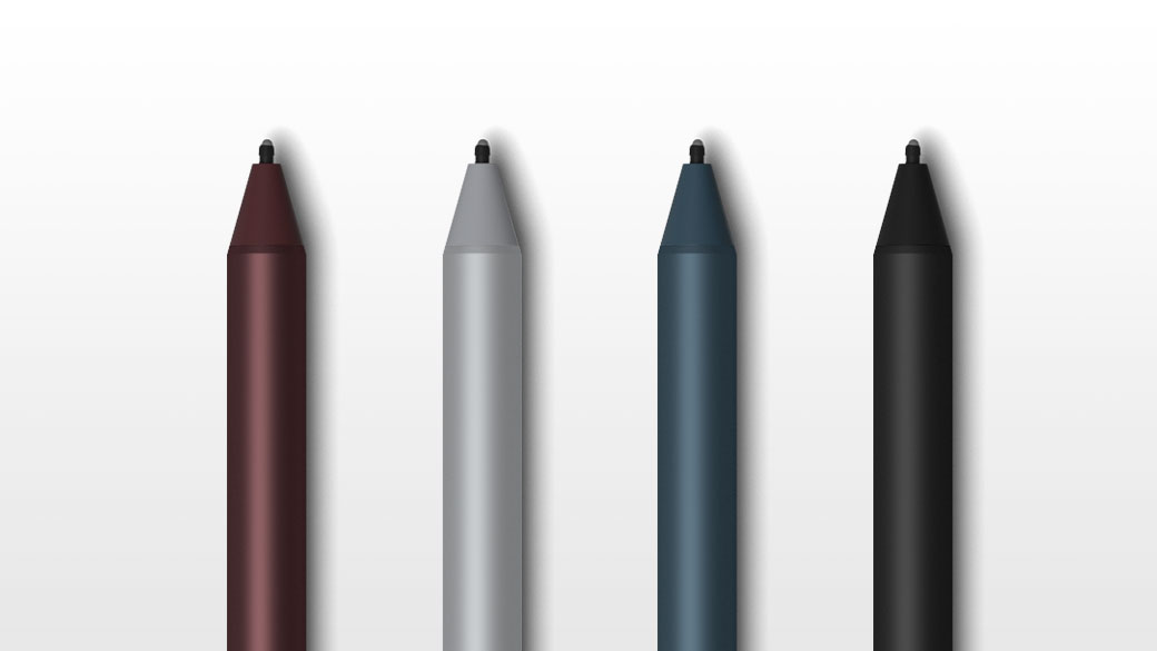 多個 Surface Pen 影像