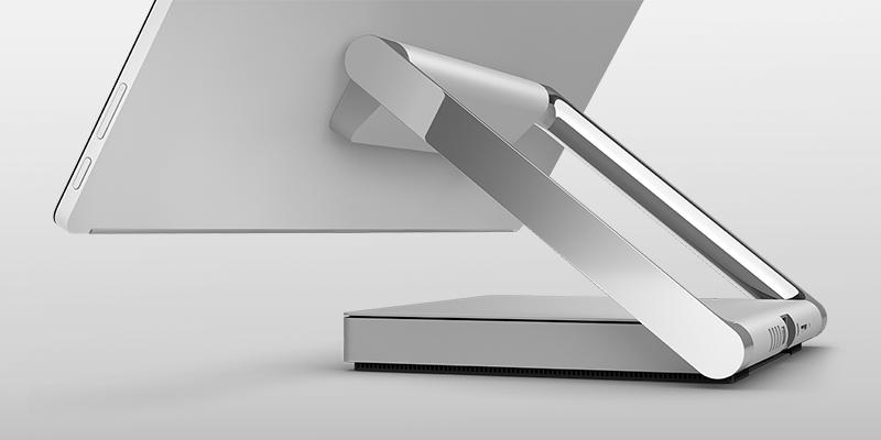 SURFACE STUDIO 採用桌上型電腦模式的產品影像。